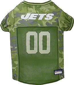 NFL 迷彩针织狗和猫 . 足球狗狗运动衫迷彩有32NFL 队 & 5种尺寸。 cuttest 猎犬连衣裙 . 迷彩宠物运动衫,队徽 . 迷彩 中