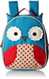 Skip Hop 可爱动物园儿童安全带背包,多个猫头鹰,适合 2 岁以上儿童