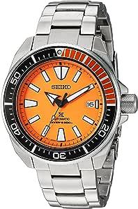 Seiko ' Prospex' 自动不锈钢休闲手表,颜色:银色(型号:SRPC07)