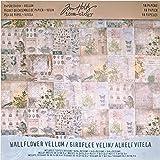 WALLFLOWER 纸 STASH 由 Tim holtz idea-ology