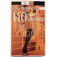 ATSUGI 厚木 紧身裤袜 ATSUGI TIGHTS 140D〈2双装2组〉女士 FP14002P
