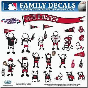 MLB 亚利桑那响尾蛇队大号家庭贴纸套装