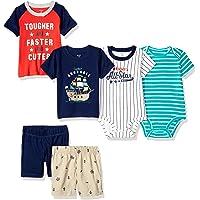 Carter's 卡特男婴连体衣 T 恤和短裤 6 件套