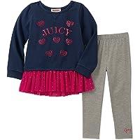 Juicy Couture 女婴束腰外衣打底裤套装 2 件套