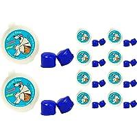 PUTTY BUDDIES 浮动耳塞 10 双装 - 软硅胶耳塞用于游泳和沐浴 - 由*发明,保持水出 - 高级游泳耳塞…
