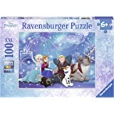 "Ravensburger 10911 1 ""冰雪奇缘魔力拼图(100 片)"