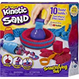 Kinetic Sand,磨砂套装,含 2 磅沙和 10 个工具,适合 3 岁及以上儿童