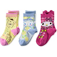 Sanrio 三丽鸥 袜子 3双装 4560093 女孩
