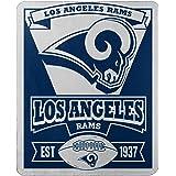 The Northwest Company NFL Marque 印花抓绒衫 洛杉矶公羊队 50-Inch x 60-I…