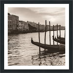 "Picture Perfect International 704-1867-3030 Alan Blaustein ""Campo Di Salute, Venezia"" Framed Plexiglass Wall Decor, 33.5"" x 33.5"" x 0.75"""