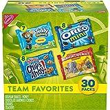 Nabisco Team Favorites Mix - 各种包,带饼干和饼干,30 个盒,30 盎司