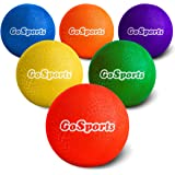 GoSports Playground Ball (Set of 6) with Carry Bag and Pump…