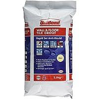 UniBond 2026573 2.5 kg 快速套装弹性壁挂和地板瓷砖花盆 - 奶油色 奶油色 2026573