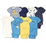 Gerber 男婴短袖连体衣(8 件装)