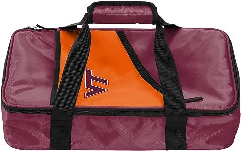 """标志品牌 NCAA Virginia Tech Hokies Casserole Caddy Bag,4""""x 11""""x 17"""",红色"""