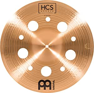 Meinl Cymbals 40.64 厘米垃圾中国带孔 – HCS 传统抛光青铜鼓套装,德国制造,2 年保修(HCSB16TRCH)