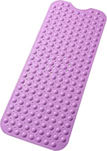 Tike Smart 优质浴缸垫 - 长,超长 Opaque Purple 两个 XL