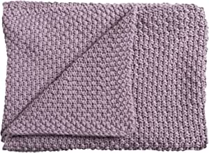 Schardt 15 100 208 Sunny 婴儿针织毯 75 x 100 厘米 灰色 Violett