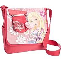 Barbie 芭比 侧背包A279893(玫红色)