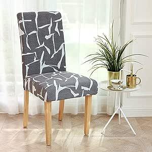 Infinity 系列氨纶面料弹性弹性可拉伸椅套,可拆卸,可水洗,适用于餐厅、厨房、派对、酒店、餐厅 Style P 828-CHC