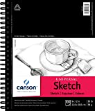 Canson Artist Series Universal Paper Sketch Pad, for Pencil…