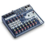 Soundcraft Notepad-5 小型模拟搅拌机Notepad-12FX 12-channel mixer 12…