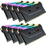 Corsair CMW128GX4M8C3200C16 Vengeance RGB PRO 128GB (8x16GB…