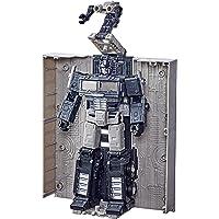 Transformers Toys 世代大战 Cybertron:Earthrise Leader Alternate Universe Optimus Prime 可动公仔 - 8 岁及以上儿童,7 英寸(亚马逊*)