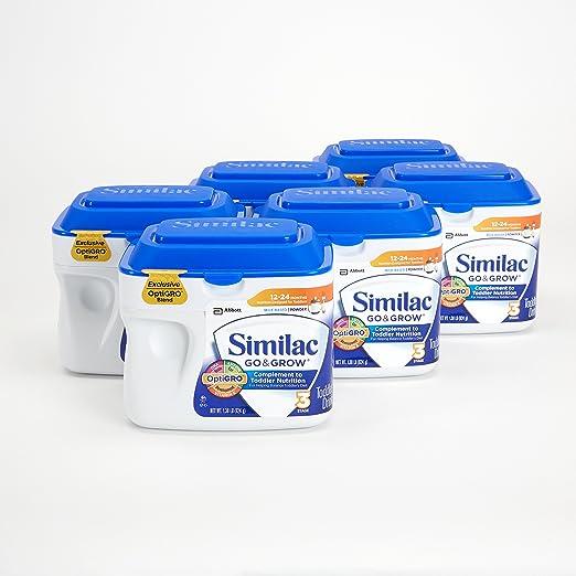美国雅培Similac 成长发育 3段婴幼儿奶粉 22盎司(624g)/罐 (6罐装)