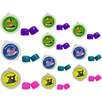 PUTTY BUDDIES 耳塞 10 双装 - 软硅胶耳塞用于游泳和沐浴 - 由 ENT *发明的 - 阻塞水 - 优…