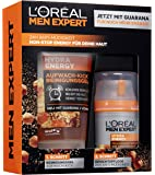 L'Oréal 欧莱雅 Men Expert Hydra Energy 男士礼品套装 24 小时 保湿护理 保湿水 含瓜…