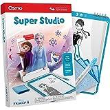 Osmo Super Studio 迪士尼《冰雪奇缘2》-5-11岁儿童绘画活动-适用于iPad或Fire Tablet(需要Osmo Base)