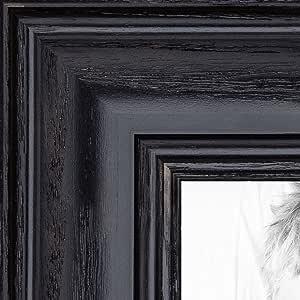 "ArtToFrames 画框深红色橡木染黑 3.18 cm 宽 黑色 18 x 33"" 2WOM0066-59504-YBLK-18x33"