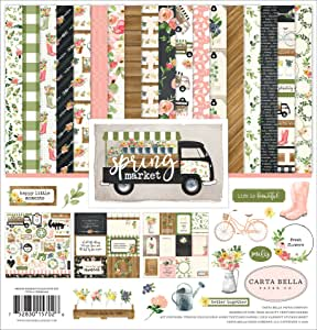 "Carta Bella Collection Kit 12""X12""-Spring Market"