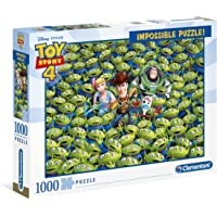 Clementoni 不可能拼图玩具总动员 4-1000 块,多色,39499