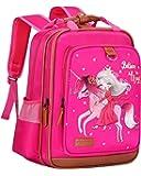 女孩背包独角兽 38.10 厘米   粉色儿童书包 适用于幼儿园或小学 Pink Princess One_Size