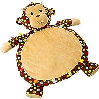 TAGGIES炫点猴婴儿垫 爬行毯 79cm x 58cm 标签毛绒感统玩具 宝宝安抚 0岁以上