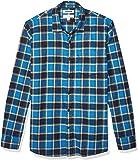 Amazon Brand - Goodthreads 男式长袖拉绒法兰绒衬衫