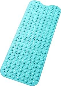 Tike Smart 优质浴缸垫 - 长,超长 Opaque Turquoise (Green-blue) 两个 XL