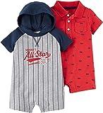 Carter's 男婴连体连衫裤(2 件装)