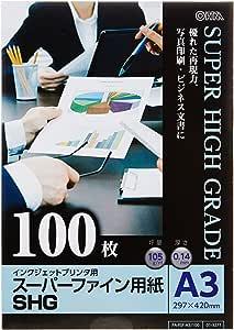 *精细用纸 A3 100张装 PA-PSF-A3/100