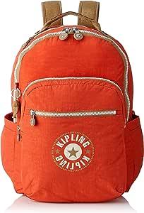 Kipling 官方 背包 SEOUL KI5210 Funky Orange Bl One Size