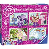 Ravensburger 6896 我的小马驹 4 合一盒拼图玩具 - 12、16、20 和 24 块