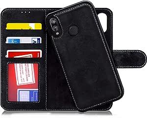华为手机壳M42734  Huawei P20 Lite Flip Detachable Black