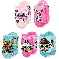 LOL 惊喜! 女童 5 双装隐形袜