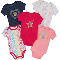 JUICY Couture 女婴连体服5件 Navy/Pink/Print 6-9 Months