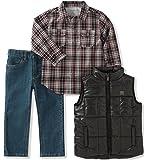 Calvin Klein 男童 3件套 裤子&上衣&背心