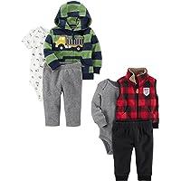 Carter's 男童 6 件套夹克和背心套装