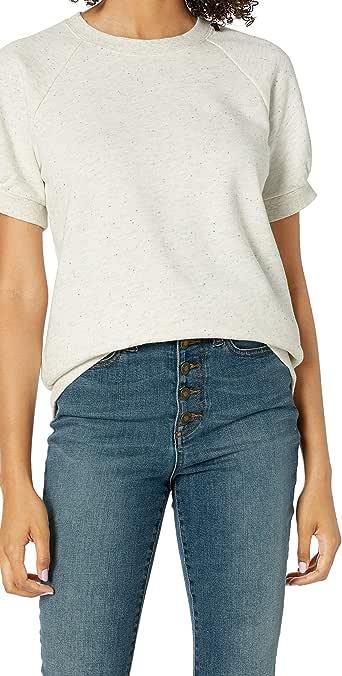 亚马逊品牌:Goodthreads 女士礼服衬衫 莫代尔羊毛衬衫 短袖衬衫