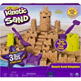 Kinetic Sand The One Only Sandcastle 套装 453.59 kg 沙,模具工具(颜色随…